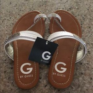 White G by Guess sandals